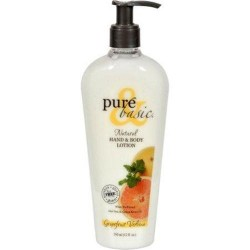 Pure and Basic Natural Hand and Body Lotion Grapefruit Verbena - 12 oz