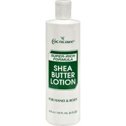 Cococare shea butter superrich formula lotion - 16 oz