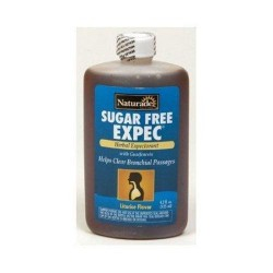 Naturade sugar free expec cough syrup - 4.2 oz