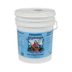 Neptunes harvest fish and seaweed fertilizer blend blue label - 5 Gallon