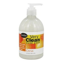 Shikai very clean hand soap citrus - 12 oz