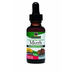 Nature's answer myrrh ole gum resin with organic alcohol - 1 oz