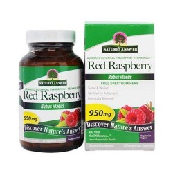 Natures answer red raspberry leaf 950mg - 90 ea
