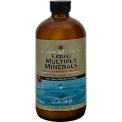 Natures answer liquid multiple minerals grape - 16 oz
