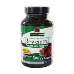 Natures answer resveratrol 250 mg - 60 ea