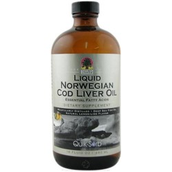 Natures answer liquid norwegian cod liver oil - 16 oz