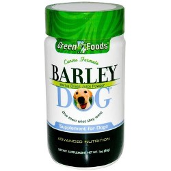 Green foods cnine formula barley dog supplements - 3 oz