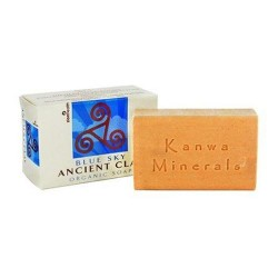 Zion health blue sky ancient clay, natural soap - 6 oz