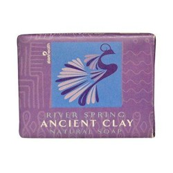 Zion Health ancient clay natural soap, River spring - 10.5 oz