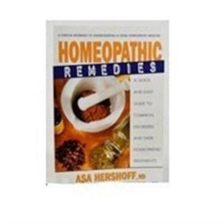 Homeopathic remedies book - 1 ea