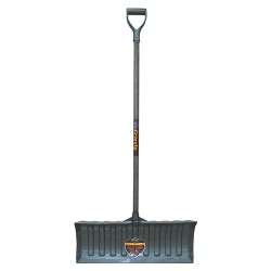 The Ames Company Garant P grizzly heavy duty poly pusher - 26 inch, 6 ea