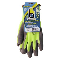 Bellingham Fall/Winter P hi-vis acrylic with latex palm glove - m, 6 ea