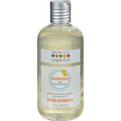Natures baby organics bubble bath tangy tangerine - 12 oz