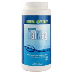 Natural Vitality Calmag Diet Supplement - 16 Ounce