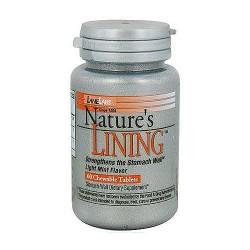 LaneLabs Natures Lining Digestive Antacid Chewable Tablets - 60 Ea