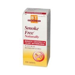 Boerickend tafel smoke free naturally tablets - 100 ea