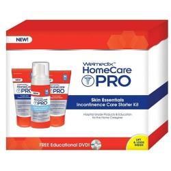 Welmedix home care pro skin essentials incontinence care starter kit - 8 oz