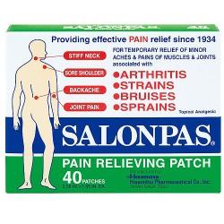 Salonpas pain relieving patch - 40 ea