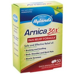 Hyland's Arnica 30x pain relief tablets - 50 ea