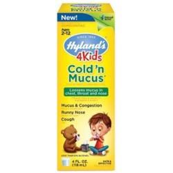 Hylands 4 kids cold n mucus value pack - 8 oz