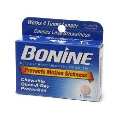 Bonine Antinausea Tablets -8ea