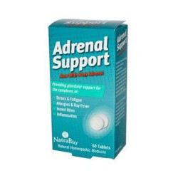 Natrabio adrenal support tablets - 60 ea