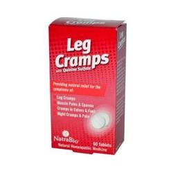 Natrabio leg cramps with quinine sulfate tablets - 60 ea