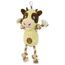 Charming Pet Products ranch roperz cow dog toy - medium, 48 ea