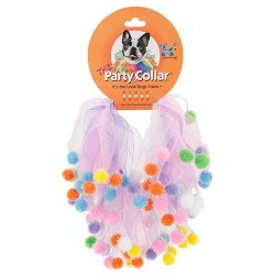Charming Pet Products birthday party dog collar - small, 48 ea