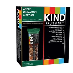 Kind bars apple cinnamon and pecan gluten free - 1.4 oz , 12 pack