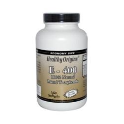 Healthy origins vitamin E400 - 360 ea