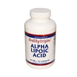 Healthy originslpha lipoiccid  600 mg capsules - 150 ea
