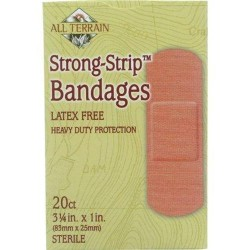 All terrain bandages  strong strip - 20 ea
