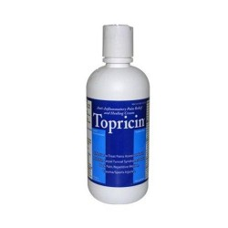 Topricinntiinflammatory pain reliefnd healing cream - 8 oz