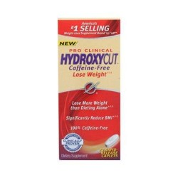 Hydroxycut pro clinical hydroxycut caffeine free - 72 Caplets