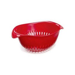 Preserve small colander red - 1 ea,4 pack