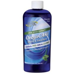North american herb and spice oregacare swirl and swallow oral cleanser - 8 oz
