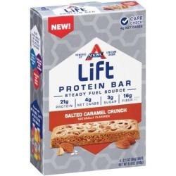 Atkins lift salted caramel crunch protein bars - 2.1 oz