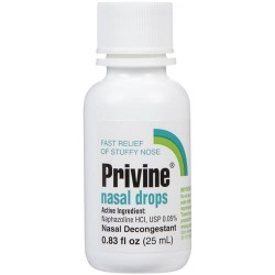 Privine Fast Relief Of Stuffy Nose Nasal Drops - 0.83 oz