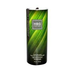Honeybee gardens mens deodorant powder unscented - 4 oz