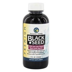 Amazing herbs  black seed coldpressed oil - 4 oz