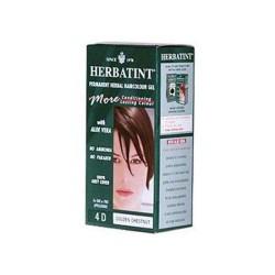 Herbatint permanent herbal haircolour gel 4d golden chestnut - 135 ml