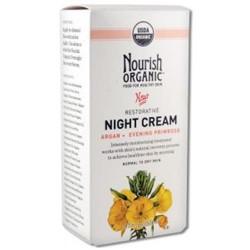 Nourish organic night cream organic restorative - 1.7 Oz