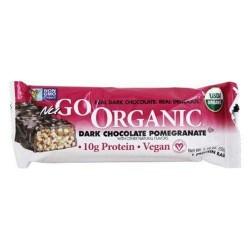 Nugo nutrition bar organic dark chocolate pomegranate - 50 grm - 1.76 oz,12 pack