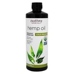 Nutiva hemp oil organic cold pressed - 24 oz