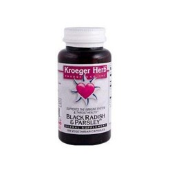 Kroeger herb black radish and parsley capsules - 100 ea