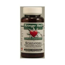 Kroeger herb schizandra vegetarian capsules -  90 ea