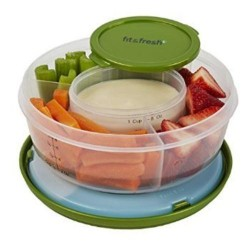 Fit and fresh fruit and veggie bowl - 1 ea