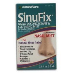 Natural care sinufix mist nasal decongestantnd cleansing mist - 0.5 Oz