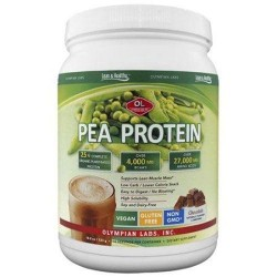 Olympian labs chocolate pea protein dietary supplement - 500 grams